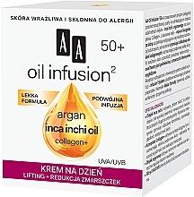 Crema-lifting antirughe da giorno - AA Oil Infusion Day Lifting Cream For Wrinkles 50+ — foto N2