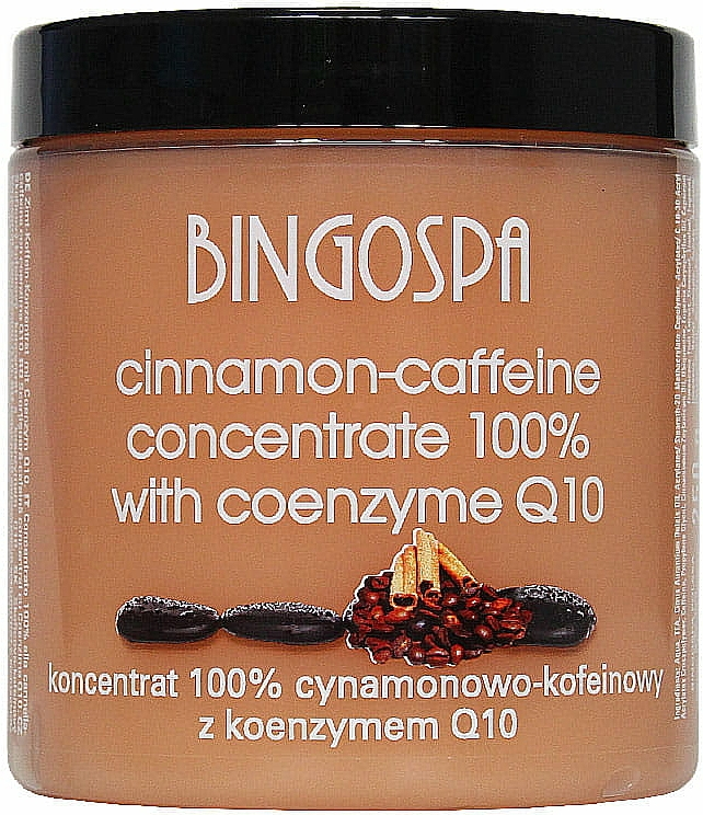 Concentrato di cannella e caffeina con coenzima Q10 - BingoSpa