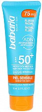 Profumi e cosmetici Fluido solare per viso - Babaria Protective Facial Fluid For Sensitive Skin Spf 50