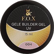 Profumi e cosmetici Gel camouflage - F.O.X Gele Builder Gel UV Pink 004