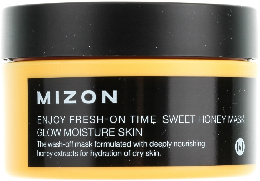 Maschera istantanea idratante e nutriente con estratto di miele - Mizon Enjoy Fresh On-Time Mask Honey Mask — foto N2