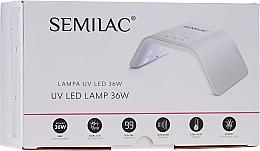 Profumi e cosmetici Lampada UV/LED, 36W, bianca - Semilac