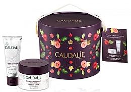 Profumi e cosmetici Set - Caudalie Vine Body Butter (balm/225ml + cr/75ml)