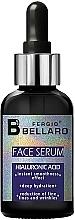 Profumi e cosmetici Siero viso all'acido ialuronico - Fergio Bellaro Face Serum Hyaluronic Acid
