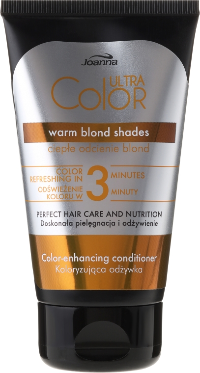 Condizionante colorante per capelli - Joanna Ultra Color System Warm Blonde Shades