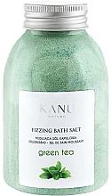 "Profumi e cosmetici Sale da bagno frizzante ""Tè verde"" - Kanu Nature Green Tea Fizzing Bath Salt"
