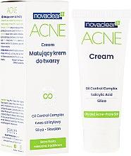 Profumi e cosmetici Crema viso opacizzante - Novaclear Acne Cream