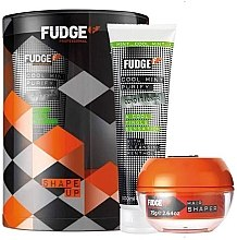 Profumi e cosmetici Zestaw - Fudge Shape Up Giftset (shm/300ml+h/cream/75g)