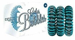 Profumi e cosmetici Elastico per capelli, turchese - Iditalian Color Bobbles