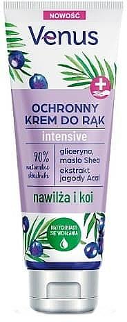 Crema mani protettiva con estratto di bacche di acai - Venus Hand Cream Jagoda Acai — foto N1
