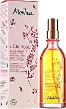 Profumi e cosmetici Olio corpo - Melvita L'Or Rose Huile Fermete