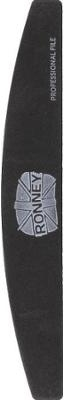 """Lima unghie, 100/180, nera, """"RN 00268"""" - Ronney Professional"""