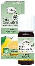 Profumi e cosmetici Olio essenziale di limone - Galeo Organic Essential Oil Lemon