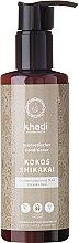 """Profumi e cosmetici Balsamo per capelli """"Cocco e acacia concinna"""" - Khadi Kokos Shikakai Hair Conditioner"""