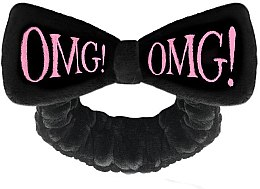 Profumi e cosmetici Fascia per capelli, nera - Double Dare OMG! Black Hair Band