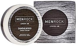 Profumi e cosmetici Crema da barba - Men Rock Sandalwood Shave Cream