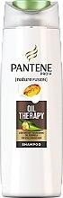 Profumi e cosmetici Shampoo per capelli deboli e danneggiati - Pantene Pro-V Nature Fusion Oil Therapy Shampoo