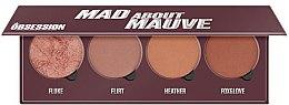 Profumi e cosmetici Palette blush - Makeup Obsession Mad About Mauve