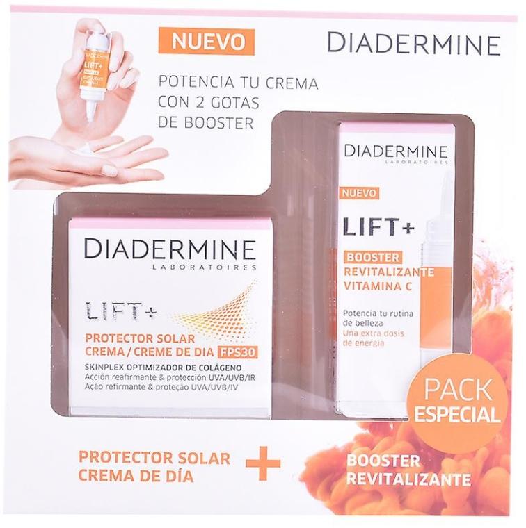 Set - Diadermine Lift + Booster Vitamina C Set (cr/50ml+booster/15ml) — foto N1