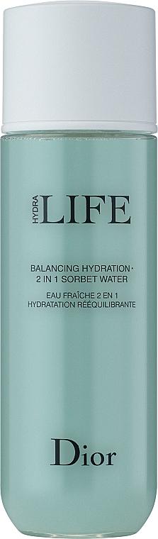 Lozione-Sorbetto idratante 2 in 1 - Dior Hydra Life Balancing Hydration 2-in-1 Sorbet Water — foto N2