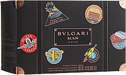 Profumi e cosmetici Bvlgari Man In Black - Set (edp/100ml + ash/balm/100ml + bag)