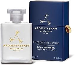 Profumi e cosmetici Olio doccia - Aromatherapy Associates Support Breathe Bath & Shower Oil