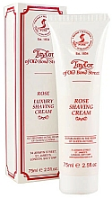"Profumi e cosmetici Crema da barba ""Rose"" - Taylor of Old Bond Street Rose Luxury Shaving Cream (in tubo)"