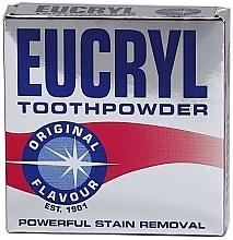 Profumi e cosmetici Polvere per denti - Eucryl Toothpowder Original