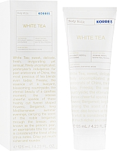 """Profumi e cosmetici Latte corpo """"Tè bianco"""" - Korres Body Milk White Tea"""