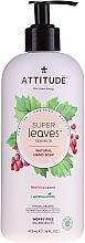Profumi e cosmetici Sapone - Attitude Natural Red Vine Leaves Foaming Hand Soap