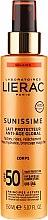 Profumi e cosmetici Latte corpo solare energizzante SPF 50 - Lierac Sunissime