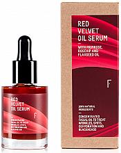 Profumi e cosmetici Siero viso - Freshly Cosmetics Red Velvet Oil Serum Balm