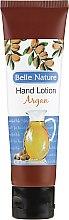 Profumi e cosmetici Crema-balsamo mani con olio di argan - Belle Nature Hand Lotion Argan