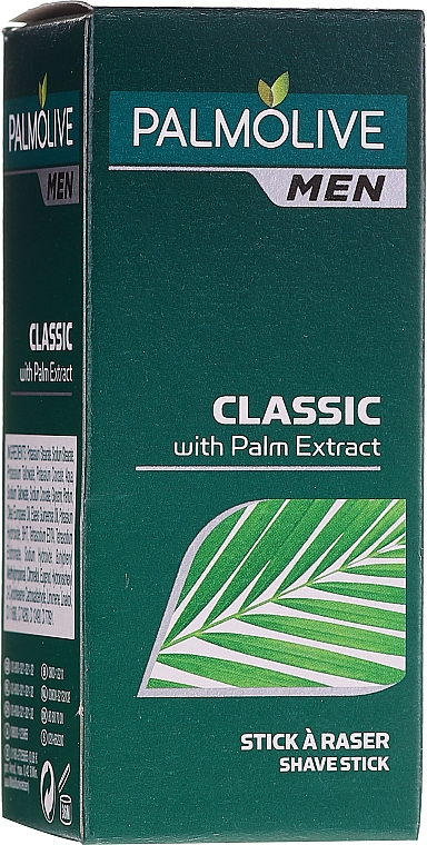 Sapone da barba - Palmolive For Men Classic Shaving Soap Stick With Palm Extract