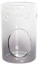 Profumi e cosmetici Aroma lampada - Yankee Candle Savoy Grey Glass Wax Melt Burner
