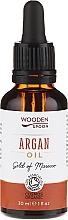 Profumi e cosmetici Olio di argan - Wooden Spoon 100% Pure Argan Oil