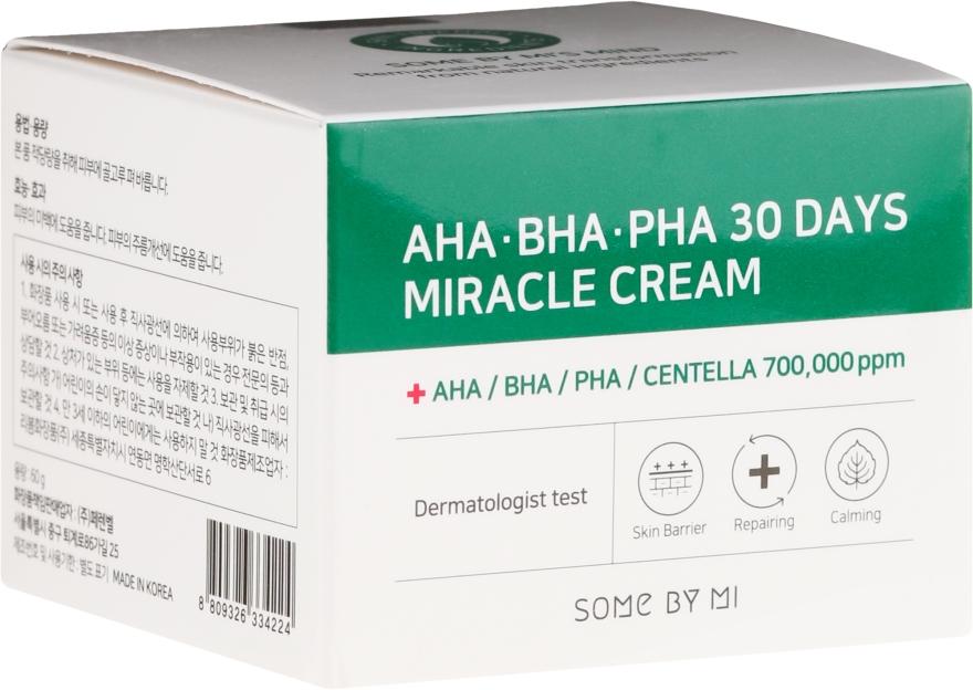 Crema viso - Some By Mi AHA/BHA/PHA 30 Days Miracle Cream