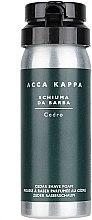 Profumi e cosmetici Schiuma da barba - Acca Kappa Cedro