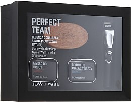 Profumi e cosmetici Set - Zew Wahl (soap/2x85ml + brush + trimmer)