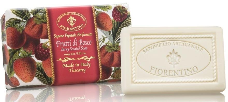 """Sapone naturale """"Bacche"""" - Saponificio Artigianale Fiorentino Berry Scented Soap"""