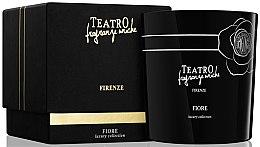 Profumi e cosmetici Candela profumata - Teatro Fragranze Uniche Luxury Collection Fiore Scented Candle