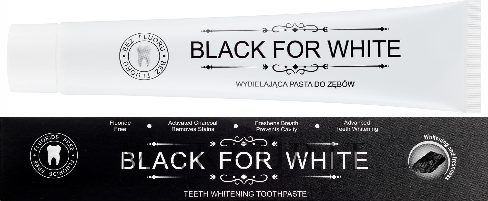 Dentifricio al carbone attivo - Biomika Black For White Teeth Paste — foto 75 ml