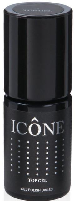 Top coat per unghie - Icone Gel Polish UV/LED Top Gel
