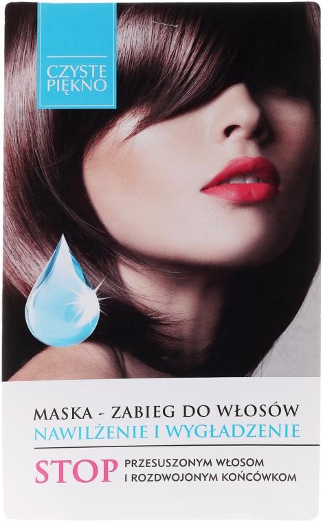 Maschera idratante e levigante per capelli - Czyste Piękno