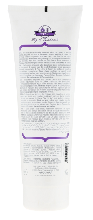 Condizionante capelli - Alfaparf Precious Nature Cleansing Conditioner for Thirsty Hair — foto N2