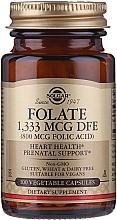 "Profumi e cosmetici Integratore alimentare ""Acido folico"" (800 mcg folic acid) - Solgar Folate 1,333 MCG DFE"