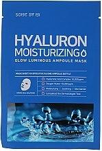 Profumi e cosmetici Maschera all'acido ialuronico - Some By Mi Hyaluron Moisturizing Glow Luminous Ampoule Mask