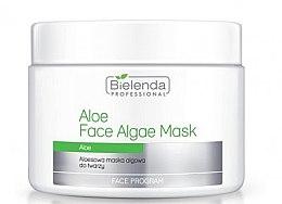 Profumi e cosmetici Maschera viso con aloe vera - Bielenda Professional Face Algae Mask with Aloe