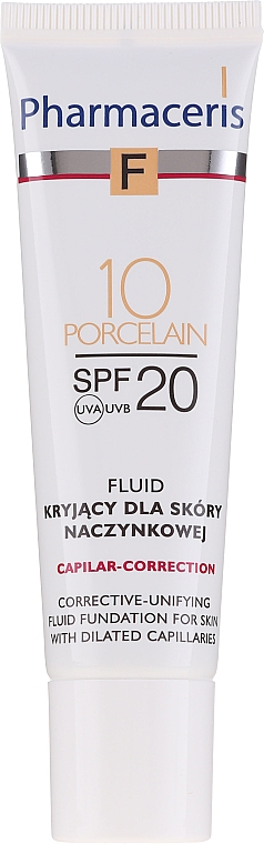 Correttore fluido viso - Pharmaceris F Capilar-Correction Fluid SPF20