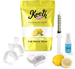 "Profumi e cosmetici Kit per lo sbiancamento dei denti ""Limone"" - Keeth Lemon Teeth Whitening Kit"